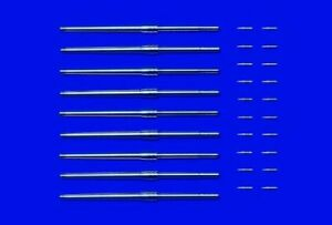 TAMIYA-1-350-metal-46CM-futs-mistolets-amp-projectiles-12643