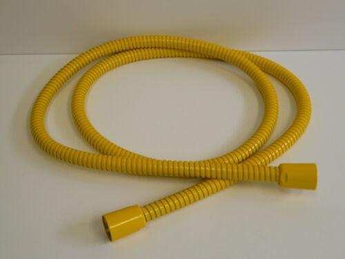 Brauseschlauch Metall Gelb (RAL 1023), Metallbrauseschlauch, Handbrausenschlauch