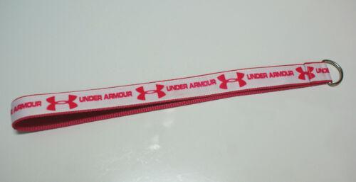 "Under Armour lanyard keychain  /""pink/"" keychain purse,handbag,car,truck accessory"