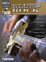 Blues Rock Sheet Music Roland Eband Guitar Play-along 000701642
