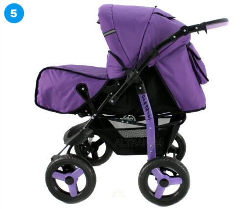 Carrycot Poussette Passeggino Dynamic Baby Pram Buggy Pushchair Stroller