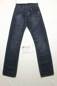 levi-039-s-551-velluto-blu-notte-boyfriend-jeans-usato-Cod-W145-Tg-41-W27-L34