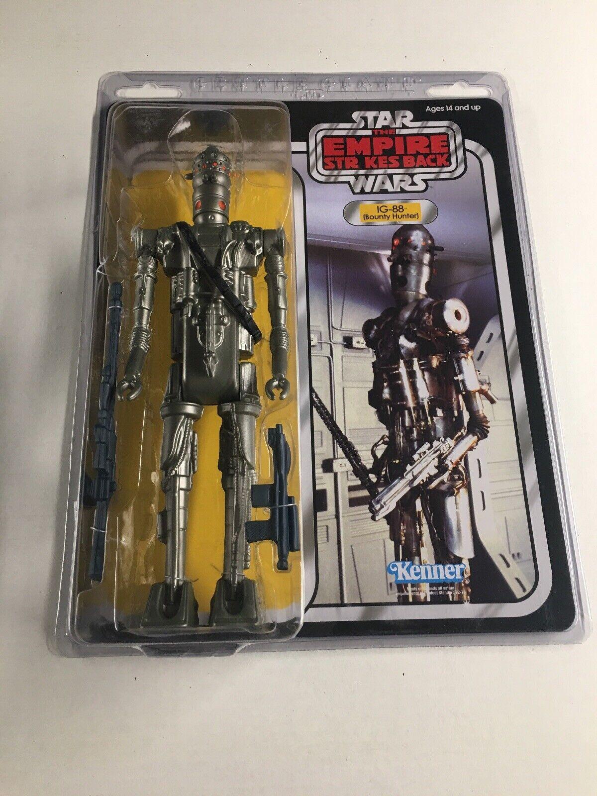 tomamos a los clientes como nuestro dios Estrella Wars IG-88 IG-88 IG-88 Assassin Droid Jumbo Kenner Figura de acción por Gentle Giant 09855  Mercancía de alta calidad y servicio conveniente y honesto.