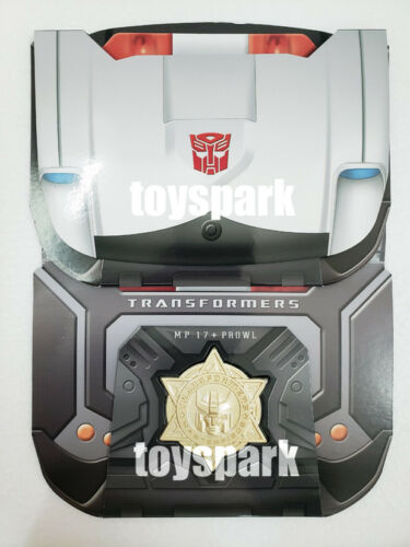 Exclusive COIN for TAKARA Transformers Masterpiece PROWL MP-17 plus anime ver