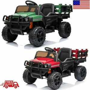 12V-Electric-Car-Kids-Ride-On-Truck-SUV-Style-with-2-4-GHZ-Remote-Control