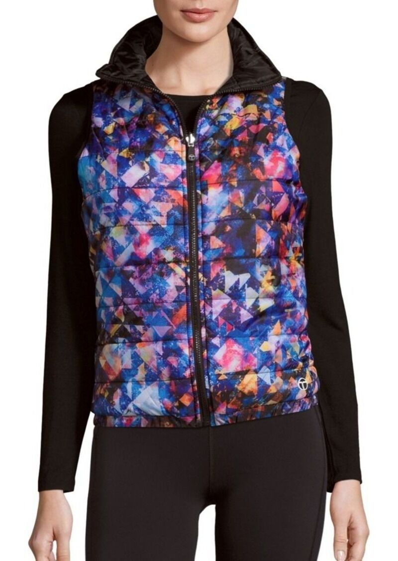 NWT  138 TRINA TURK  MEDIUM    RECREATION  PUFFER VEST   BARBADOS