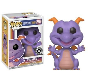 Funko Pop Figment Epcot Disney Parks Exclusive In Hand Ebay