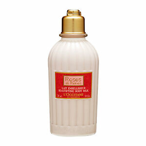 L-039-Occitane-Roses-et-Reines-Beautifying-Body-Milk-250ml-Fragrance-Scent-NEW-15696