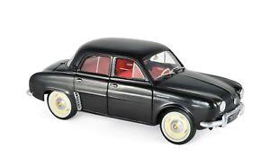 Norev 185169 - Renault Dauphine 1958 Medicis Noir 1/18