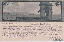 # FIRENZE: 1914 - SCENA ILLUSTRATA - CART. DI PROPAGANDA PER LA RIVISTA (2)