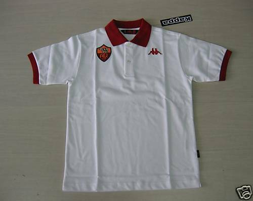 5086 TG. S AS ROMA KAPPA POLO DARSTELLUNG DARSTELLUNG DARSTELLUNG OFFIZIELL POLO JERSEY 077653