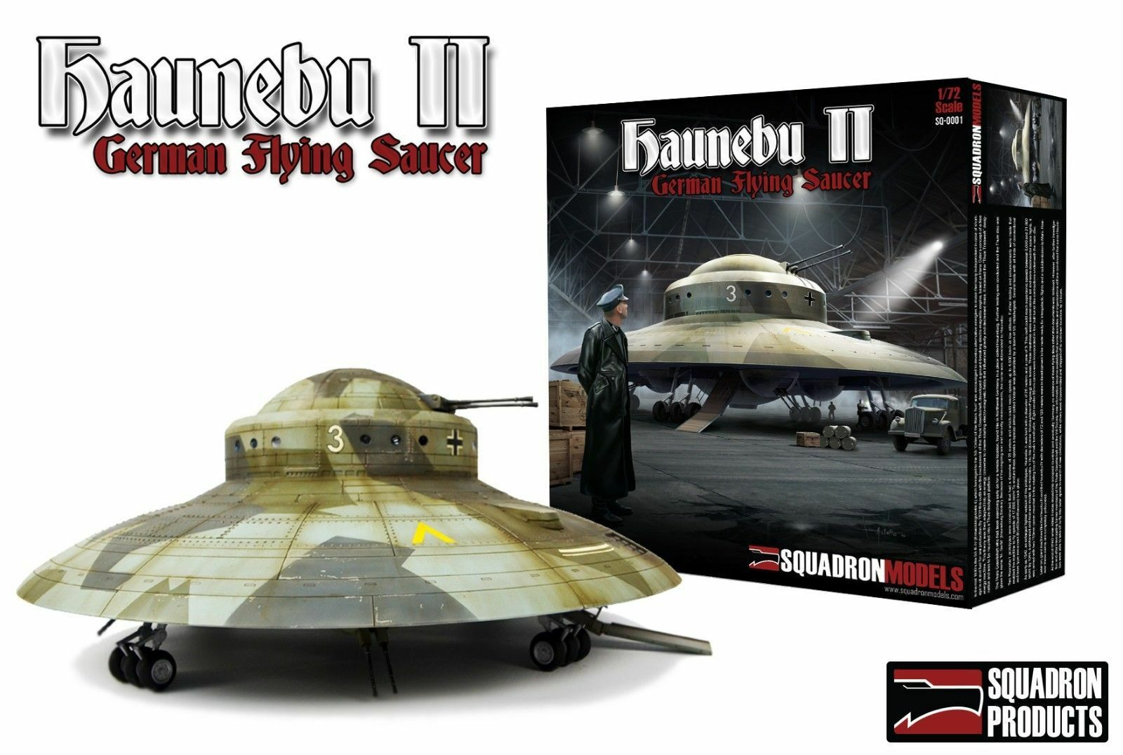1 72 Squadron Haunebu II, 14  Nazi Flying Saucer secret weapon