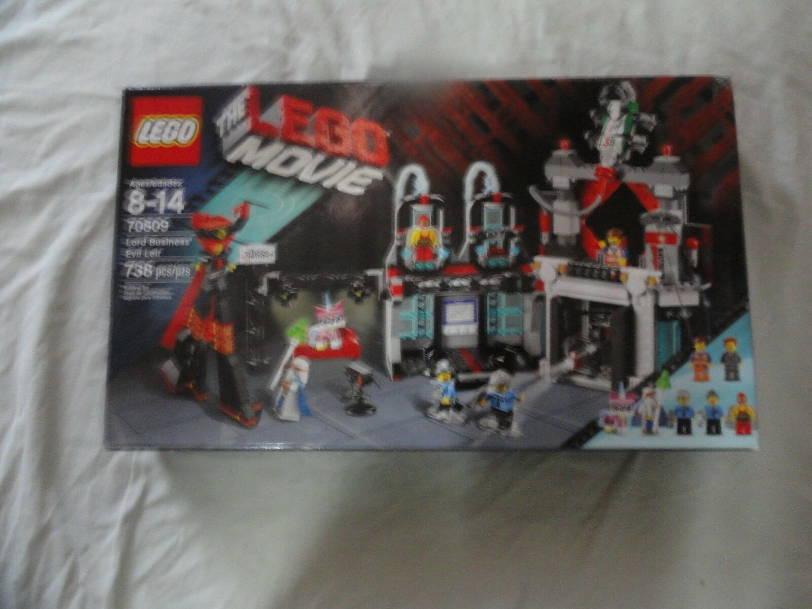 LEGO THE LEGO MOVIE Lord Business 'Evil Lair (70809) Boîte Endommagée, Scellé