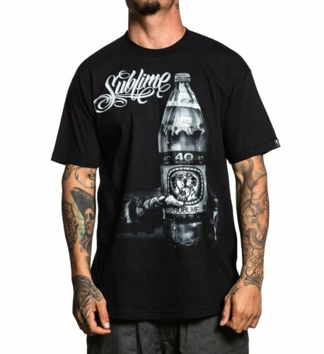 Sullen Clothing Sippin 40 Oz Sublime Band Music Adult Mens T Tee Shirt SCM1694
