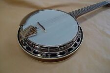 RECORDING KING RK-G25-BR Tube & Plate 6-String RESONATOR Banjo GUITAR TYPE NECK