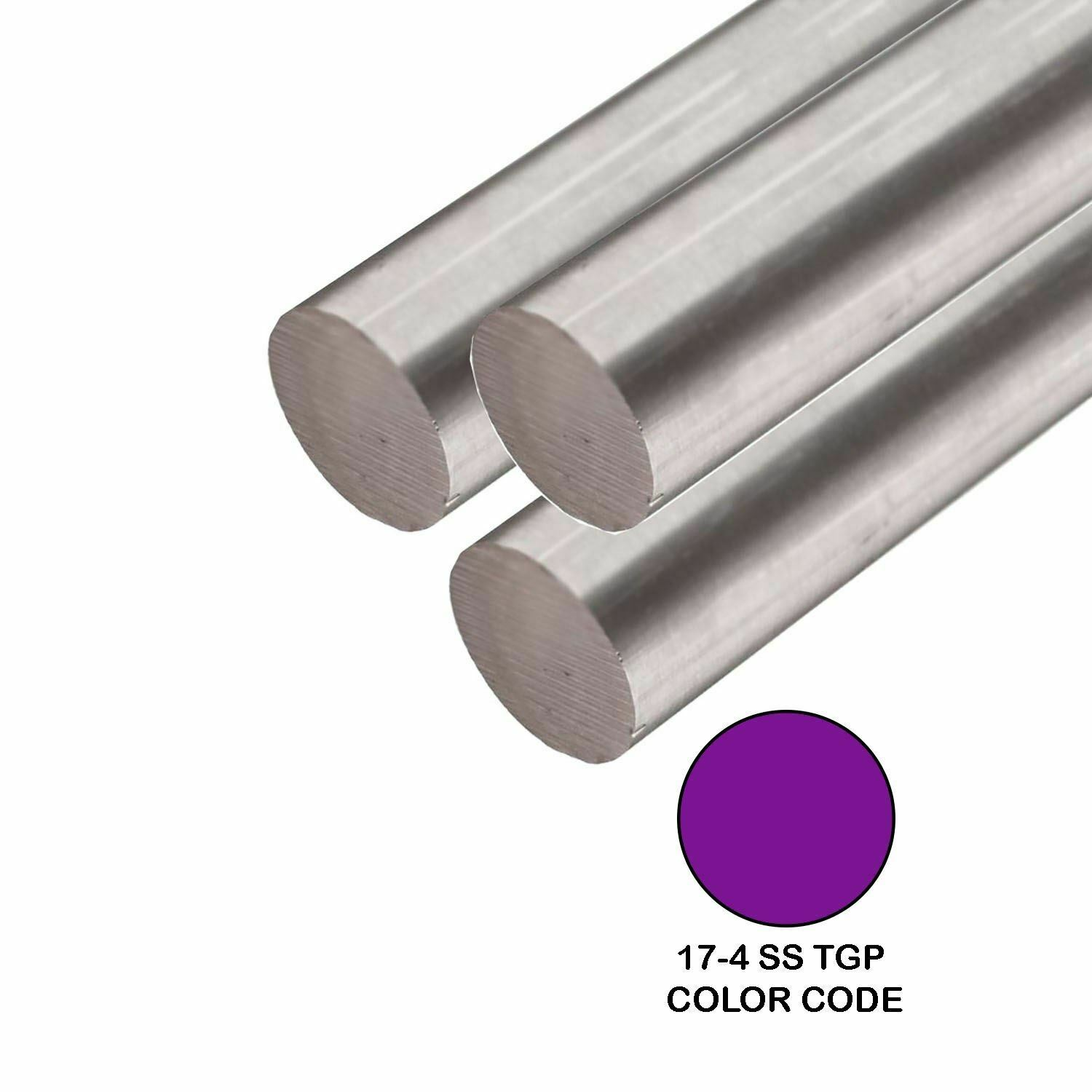 1//2 Diameter 0.50 inch Dia 24 Length Extruded 304 Stainless Steel Round Rod