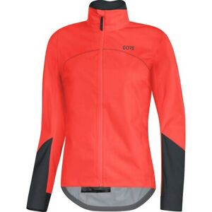 BNWT-Womens-Gore-Tex-C5-Active-Jacket-Lumi-Orange-Size-Small-Rrp-189