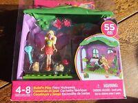 Mega Bloks - Barbie - Build'n Play Fairy Hideaway - Childs Playset - Ages 4-8