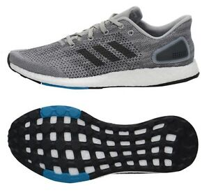 new style 0c77e d38ff Image is loading Adidas-Men-Pure-Boost-DPR-Training-Shoes-Gray-
