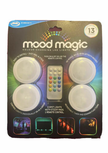 Mood Magic - Colour-Changing LED Lights - Colour-changing remote-controlled