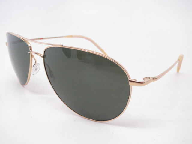 Oliver Peoples OV 1002S 5035P1 Benedict Gold VFX Polarized Sunglasses 59mm