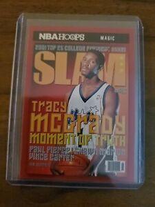 2020-21 NBA Hoops Tracy McGrady Slam Magazine Card!!! Orlando