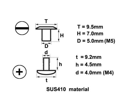 """15 mm métal 61 mm Printemps Étui de ceinture gaine clip avec vis pour 1.5/"""" Ceinture"""