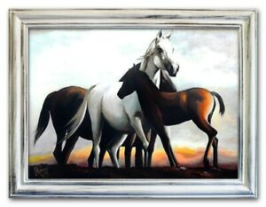Oil-Painting-Pictures-Hand-Painted-with-Frame-Baroque-Art-G02114