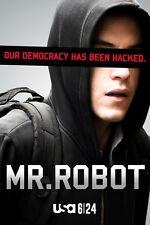 POSTER MR. ROBOT MISTER MR ELLIOT ALDERRSON RAMI MALEK SERIE TV SEASON PRINT #10