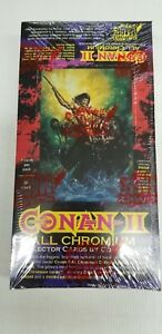 1994-Conan-2-ALL-CHROMIUM-Trading-Card-Sealed-Collector-Pack-Box