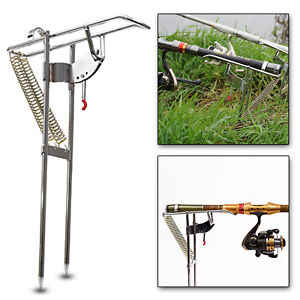 Automatic-Double-Spring-Angle-Pole-Fish-Pole-Bracket-Fishing-Rod-Holder-Rest