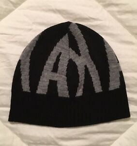 fe693fdb474 ARMANI EXCHANGE A X AX BEANIE HAT Skull Cap Vintage RARE One Size ...