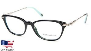 495a54cb80 NEW TIFFANY   Co TF 2096-H 8001 BLACK EYEGLASSES FRAME 50-17-140 B36 ...