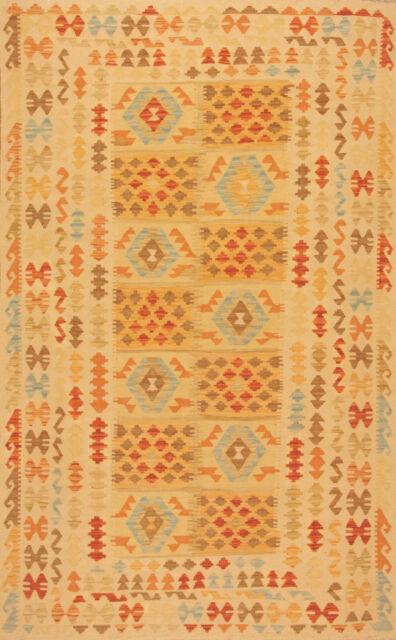 Orientteppich Handgewebter Afghanistan Kelim Nr.84358 (263 x 162)cm Neu