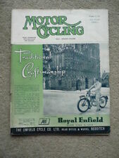 MOTOR CYCLING 23.10 52 VILLIERS, JAMES, SWALLOW, FRANCIS BARNETT, AC 3 WHEELER