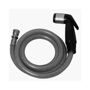 Plumb Shop Div Brasscraft Sink Spray & Hose for Kitchen Sink, 4-Ft., Black
