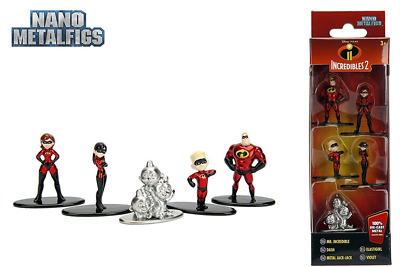 2018 Nouveau JADA Nano metalfigs DISNEY Pixar Incredibles 2