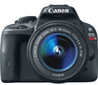 Canon EOS Rebel SL1 EOS 100D 18.0 MP Digital SLR Camera - Black (Kit w/ EF-S IS STM 18-55mm and EF III 75-300mm Lens)