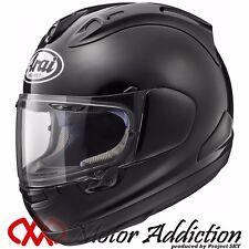 New Arai RX-7X GLASS BLACK Motorcycle Full Face Helmet XS, S, M, L, XL