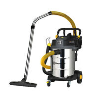 Powerful Industrial Hepa 50l Wet And Dry Vacuum - Vacmaster Power 50 Vje1650sw