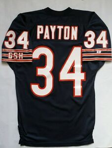 quality design d17e9 71065 Details about Vintage Rare 1985 Chicago Bears Walter Payton Wilson Jersey  Size 46