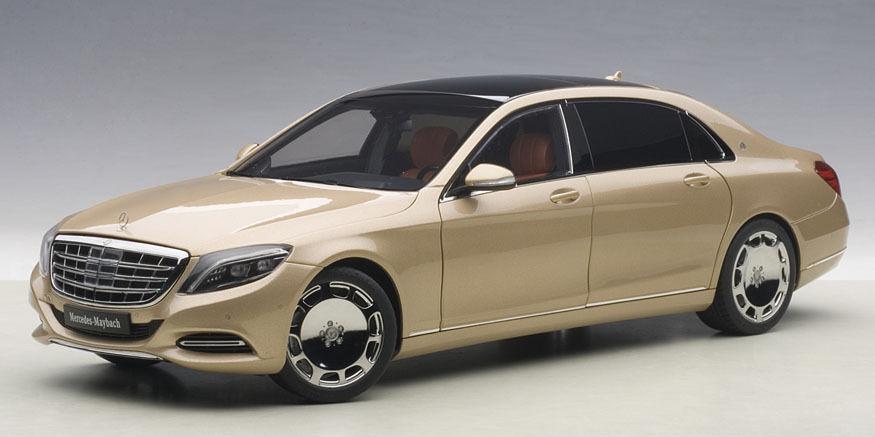 76294 AUTOart AUTOart AUTOart 1 18 Mercedes Maybach S600 Champagne gold 91b91d