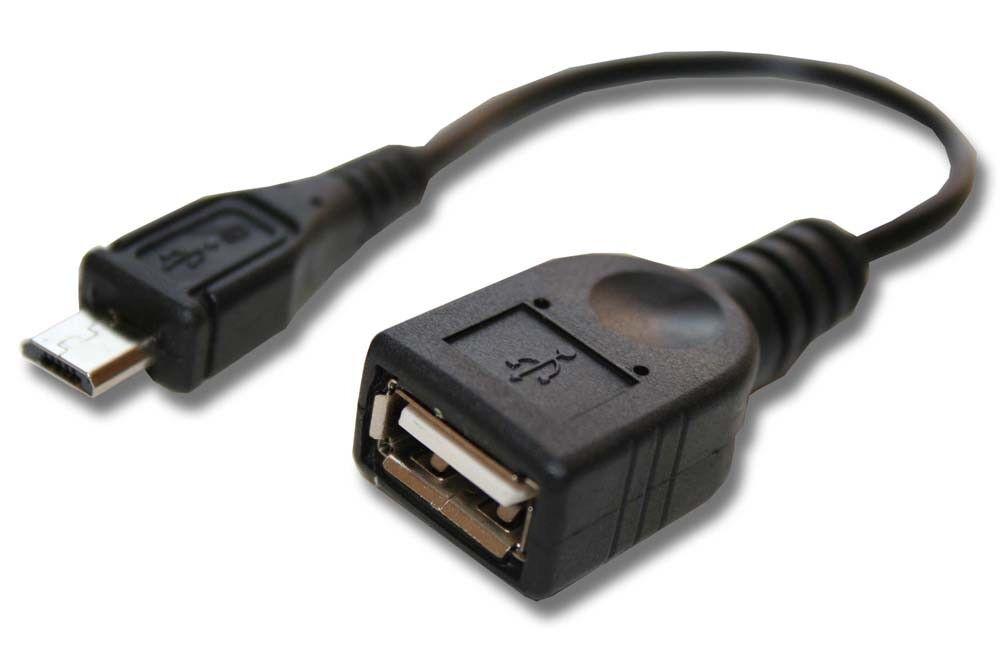 CABLE adaptador negro -OTG- para Samsung Galaxy Tab S 10.5 SM-T800 Wi-Fi