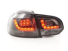 VW Golf 6 MK6 1K 2008-2012 Black Rear LED Tail Lights Taillights RHD FREE P&P