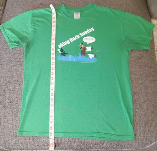 Taking Back Sunday Band T-Shirt 2005 Semi Vintage