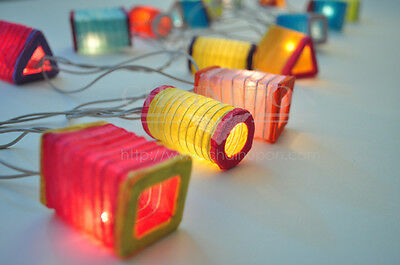CHINESE PAPER LANTERN STRING PARTY,FAIRY,DECOR,ROOM,HOME,ORIENTAL,ASIAN LIGHTS