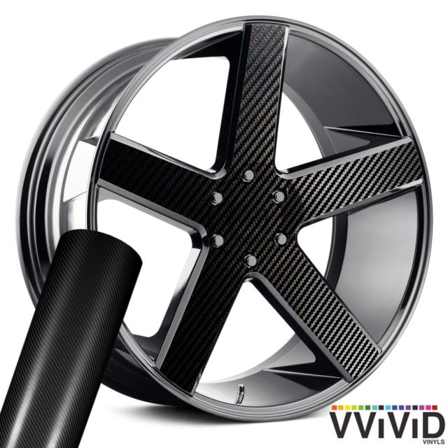 12 Inch x 60 Inch VViViD Gloss Chrome Silver Vinyl Wrap Adhesive Film Roll Air Release DIY Decal Sheet