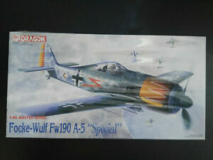 Focke-Wulf-Fw-190-A-5-034-Spezial-034-Dragon-Scale-1-48-Kit-5506-Super