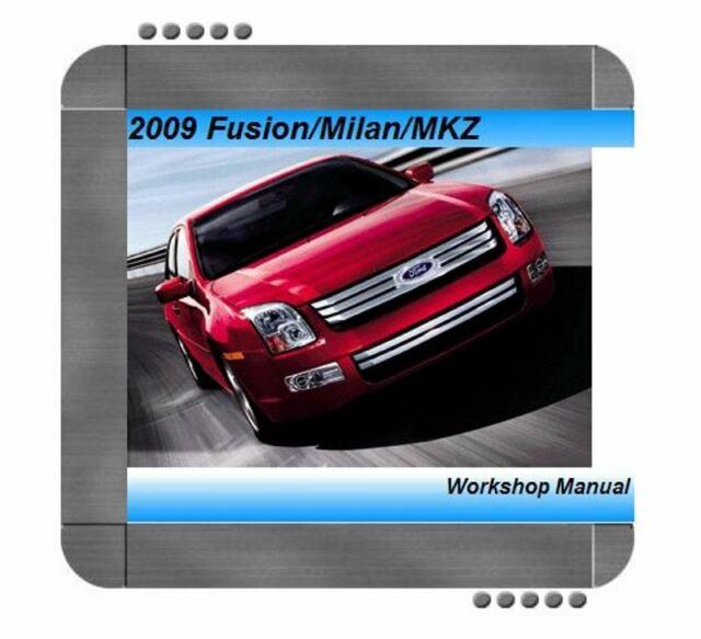 2009 Ford Fusion Repair Service Manual And Wiring Diagram