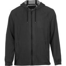 HURLEY Mens Jacket, Small, S, PHANTOM SOLID, Water Repellent, BLACK, Hooded, NWT